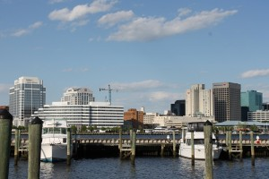 Downtown Norfolk from Portsmouth