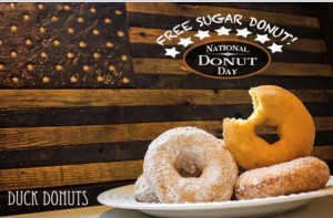 duck donuts day