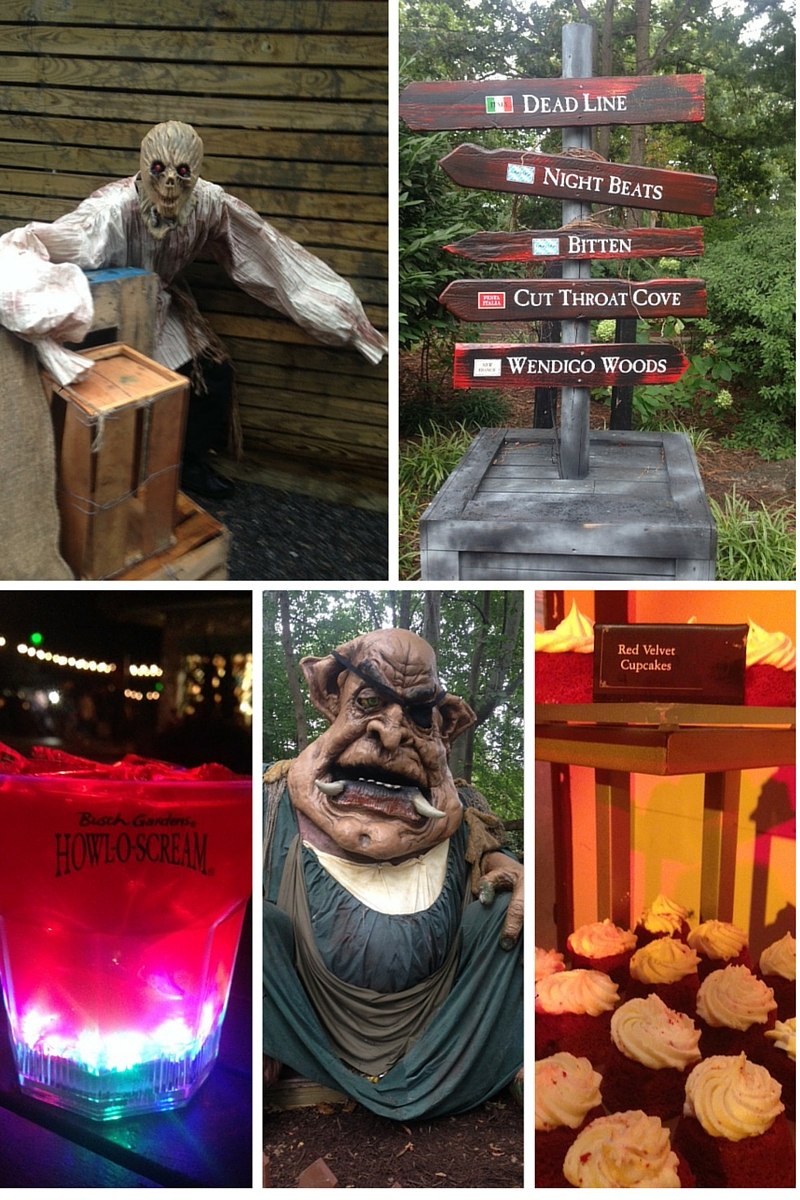 Busch Gardens Collage
