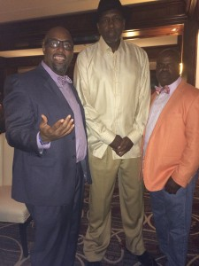 Comedy Dad meets Moses Malone
