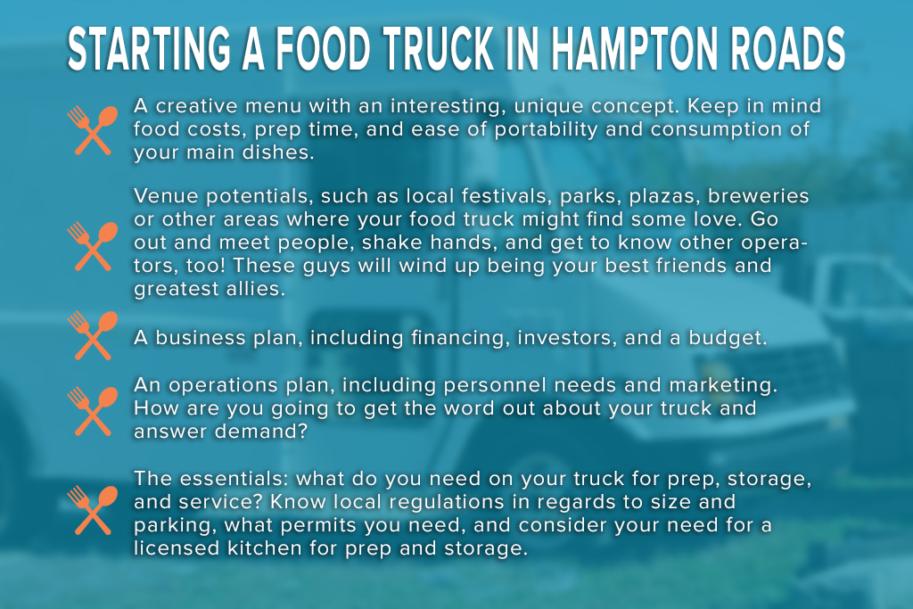 Starting a food truck in Hampton Roads