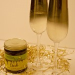 Jazz up your New Year's Toast Dip your champagne flute in chocolate for a special treat