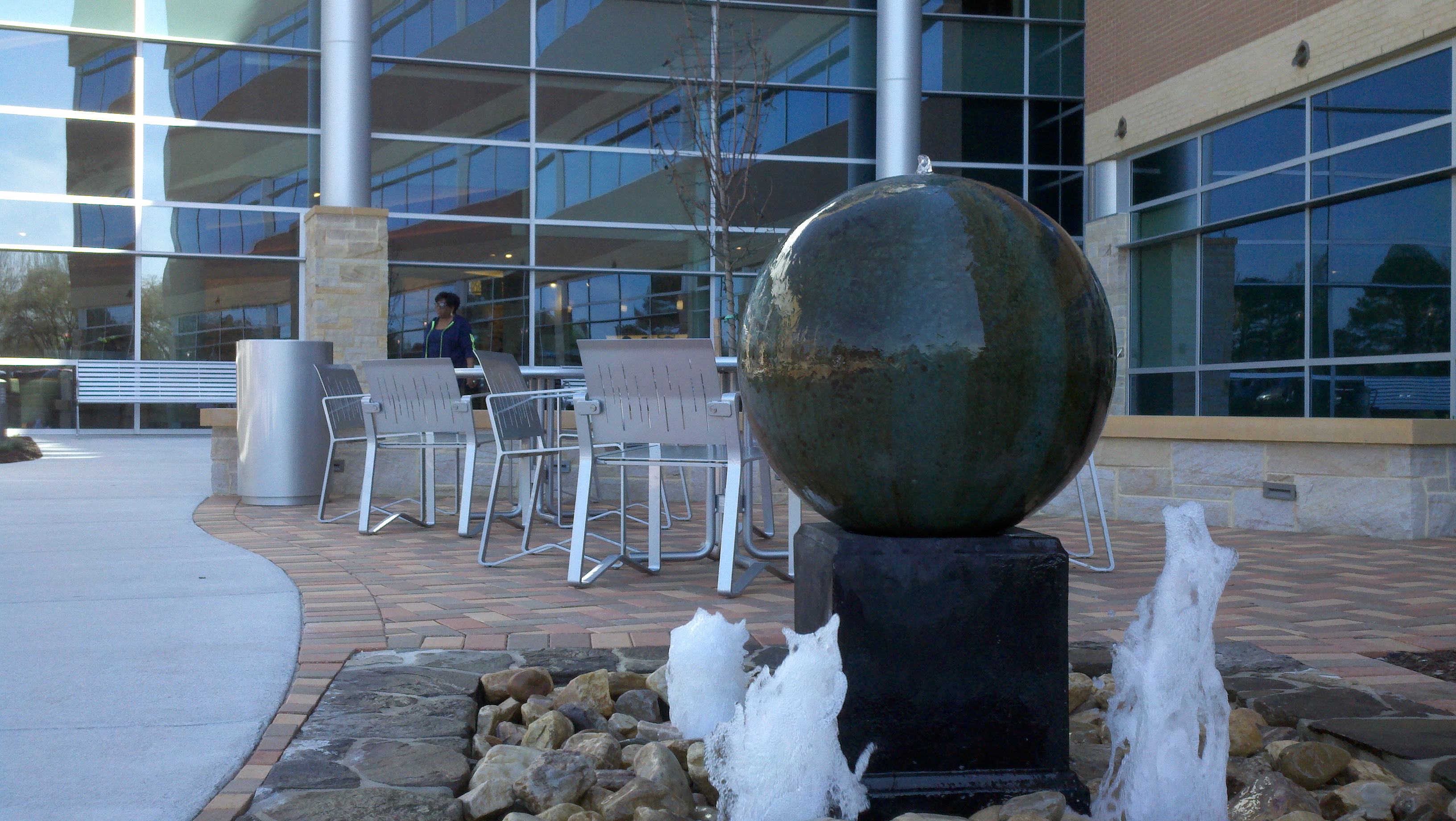 Leigh Atrium Fountain 1