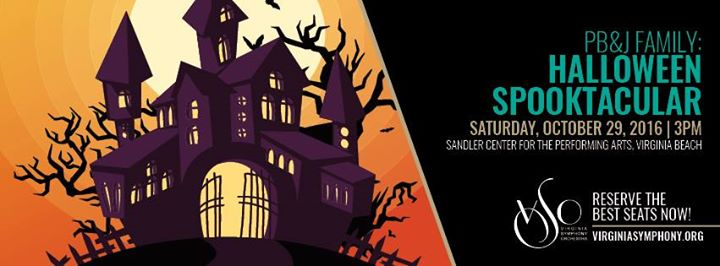 dress up in your favorite halloween costume and join benjamin rous and the virginia symphony orchestra for a ghoulish afternoon of monstrous fun - Halloween Events Virginia
