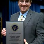 Heard the Buzz? This Virginia Beach teacher won a presidential innovation award!