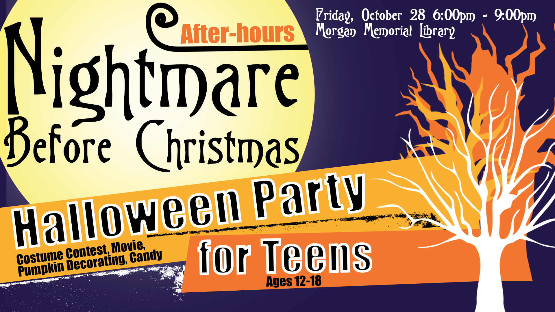 After-hours Nightmare Before Christmas Party for Teens | Events in ...