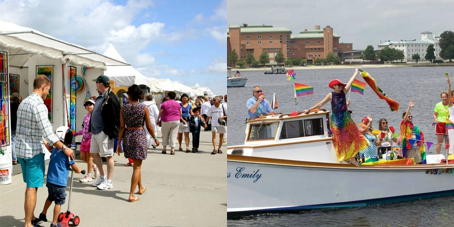 Your boardwalk art show pridefest juneteenth hampton for Craft shows in hampton roads