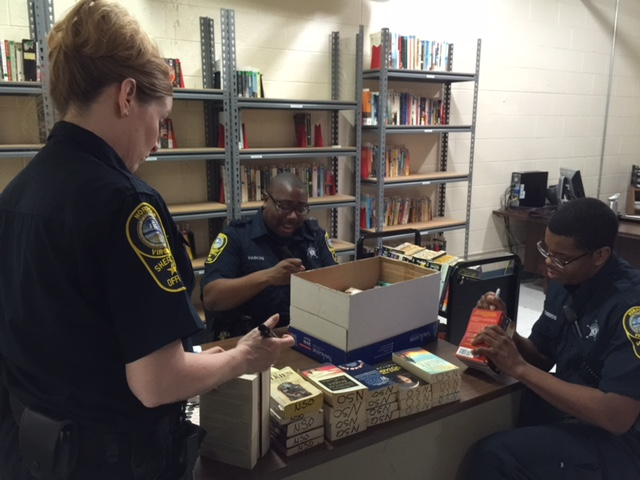Norfolk Sheriff Thanks Community for Donated Books | hrScene