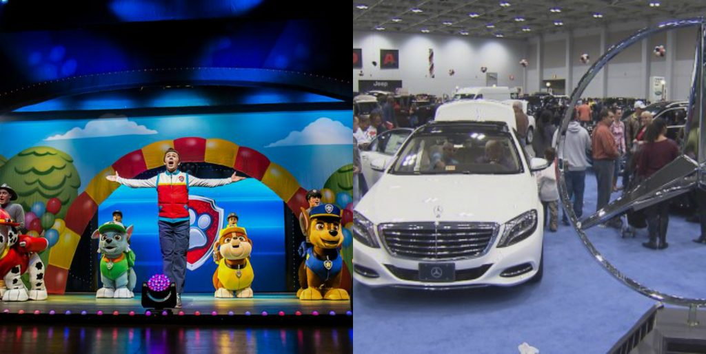 Your Auto Show Paw Patrol MLK Day Hampton Roads Weekend HrScene - Hampton coliseum car show
